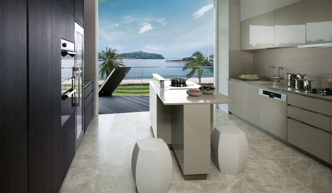 Corals Keppel Bay Prices - 4BR Deluxe Kitchen