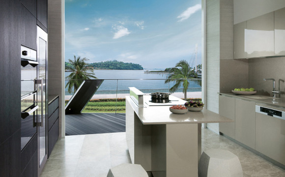 Corals @ Keppel Bay Condo Kitchen